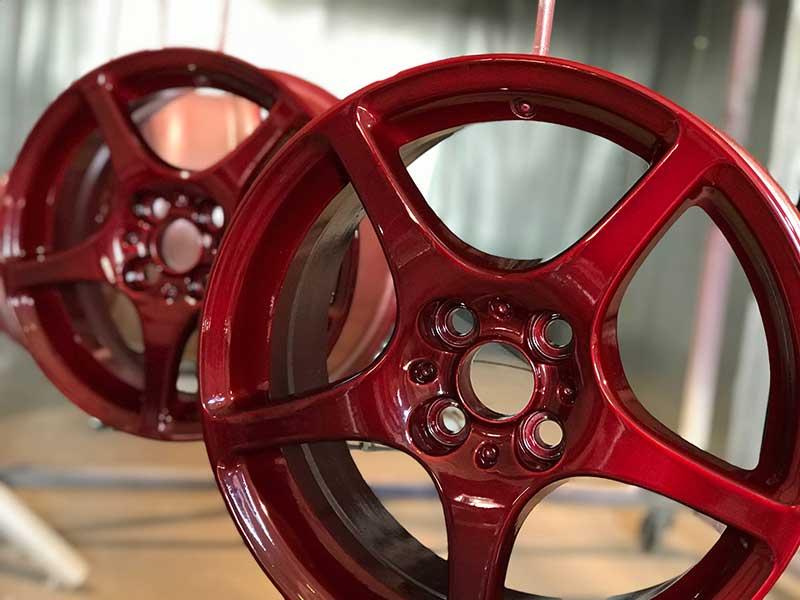 порошковая окраска дисков