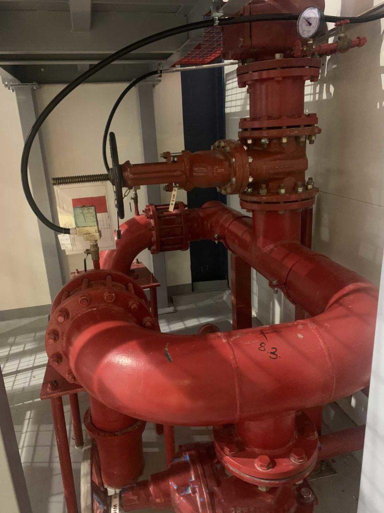 монтаж систем пожарной безопасности и пожаротушения
